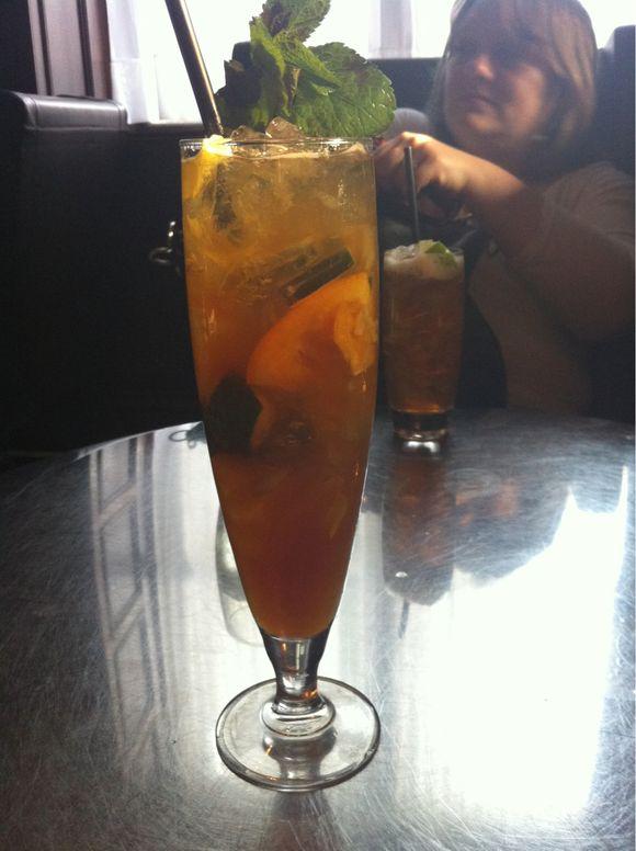 Gotta love the girlie drink