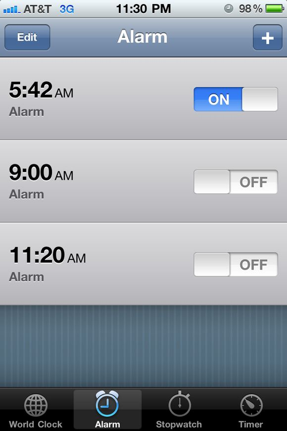 I have to get way too early tomorrow
