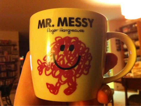 Mr. Messy mug