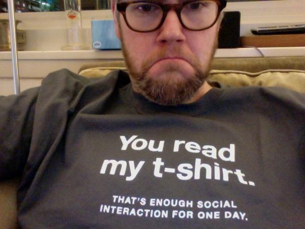 Enoughsocialinteraction