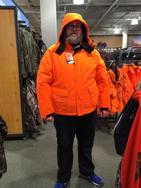 New coat?