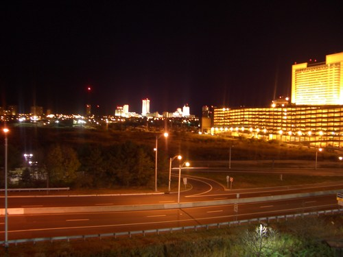 A view of AC from Harrah's