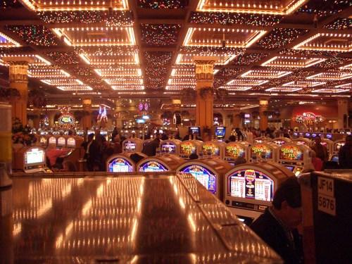 The Showboat Casino Floor