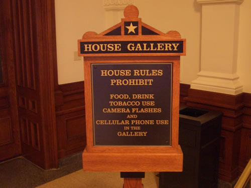House Gallery Rules