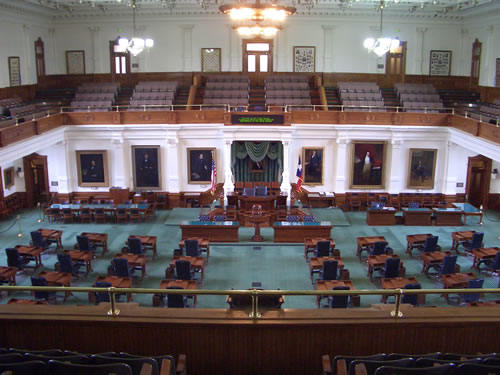 The Texas house of Reps