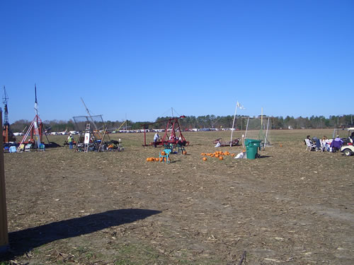 A rag tag group of punkin chunkin - ers