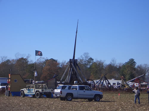This trebuchet is from New Hampshire