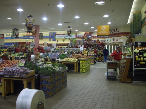 The Giant Produce Section
